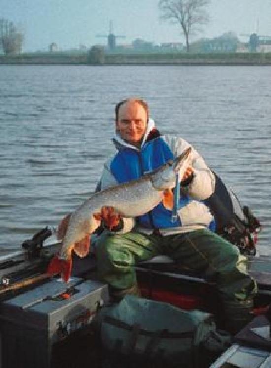 Die Maas /Niederlande - Fisch und Fang