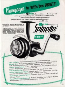 Die Bonner Spinette im 1956er Garcia Katalog. Bild: John Fishkat