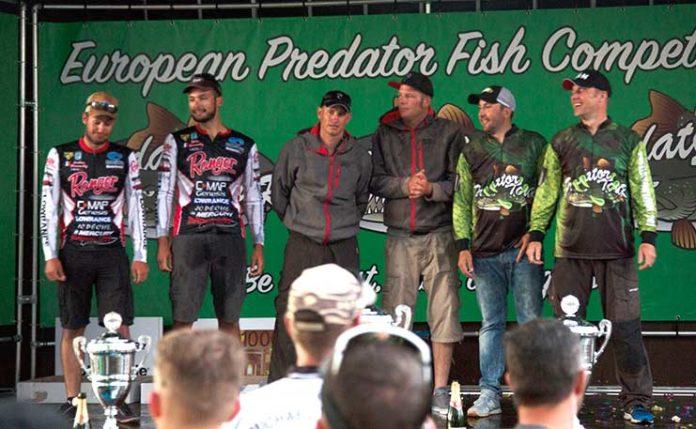 Die Deutschen Pierre Johnen und Daniel Kaldowski (Mitte) sicherten sich den ersten Platz. Auf Platz 2 landeten Jan Pusch und Daniel Brce (rechts), ebenfalls aus Deutschland.