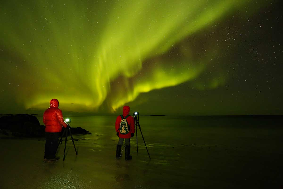 So fotografiert man Polarlichter: Sven Gust gibt hilfreiche Tipps.