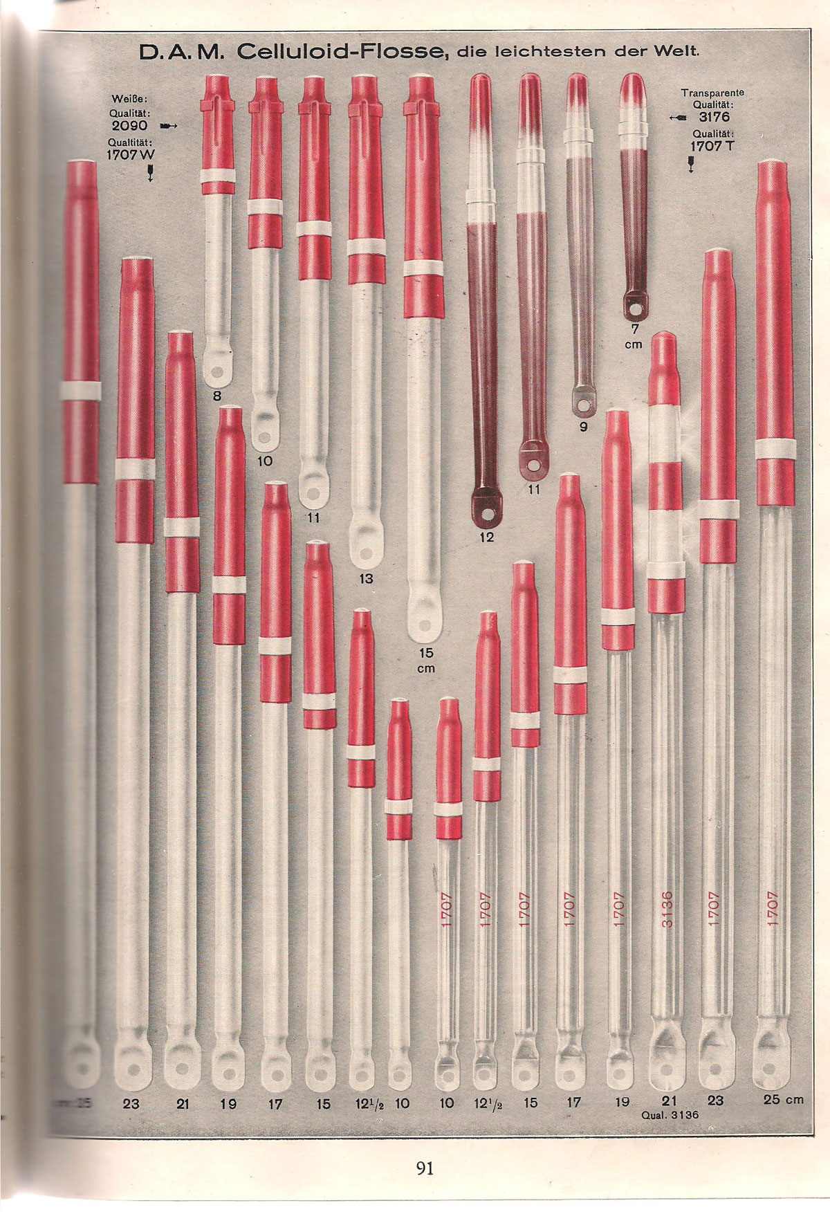 Aus dem DAM-Katalog von 1933.