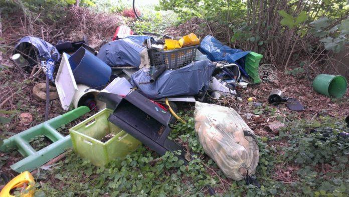 Diesen Müllhaufen entdeckten die