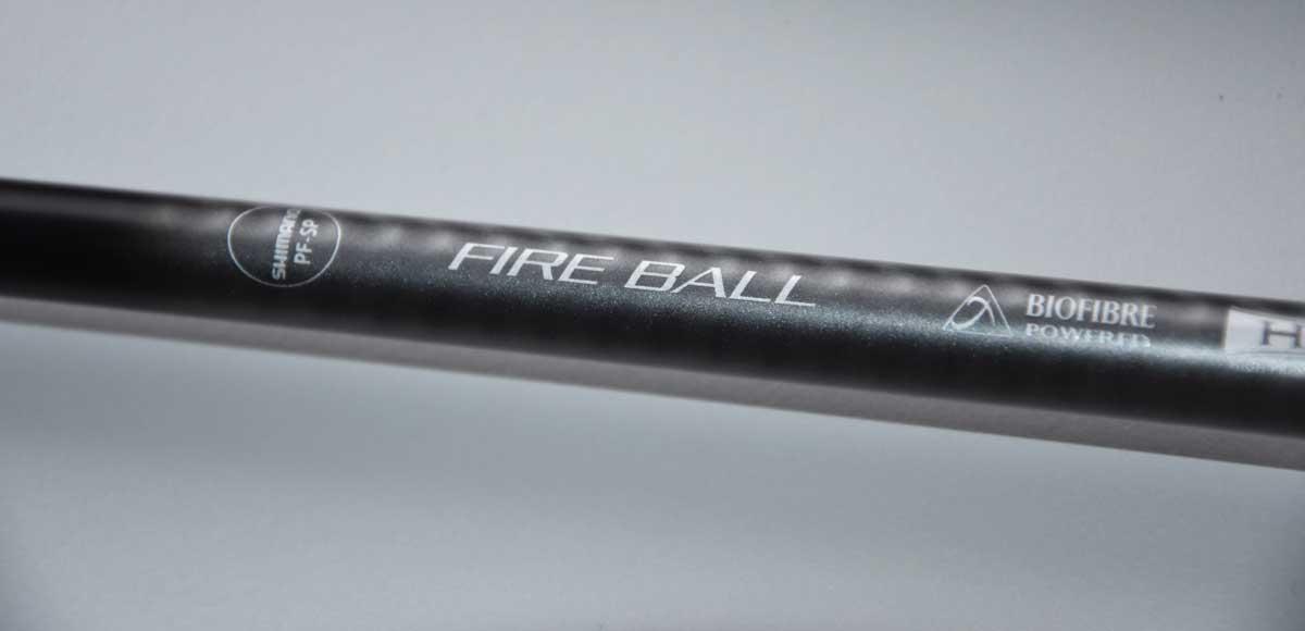Fire Ball, eine wahre Hebestange zum Welsangeln.