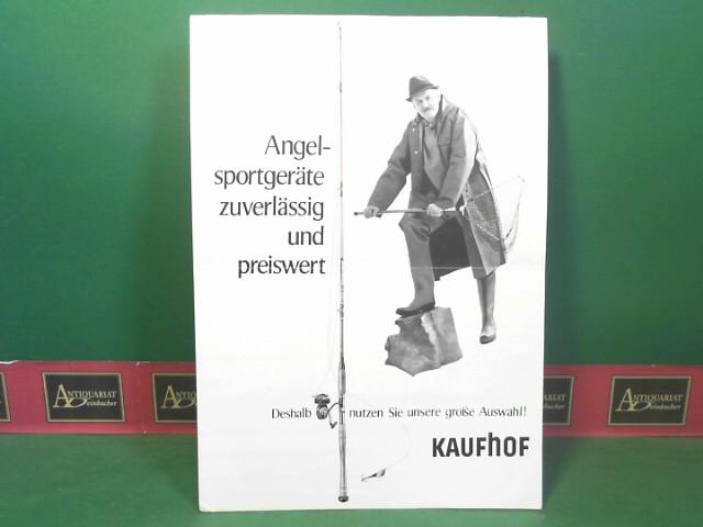 Altes Kaufhof-Prospekt. Mit freundlicher Genehmigung von Antiquariat Andreas Deinbacher.
