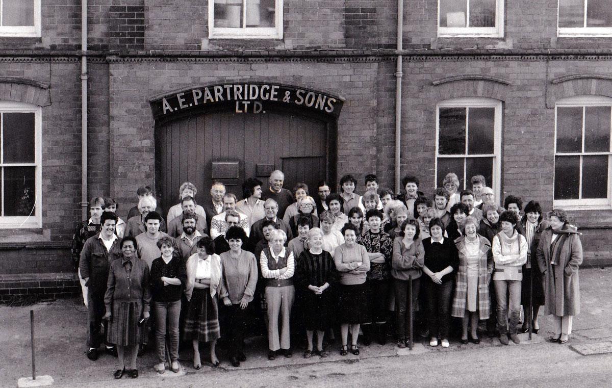In der Hakenschmiede Partridge arbeiteten fast nur Frauen.