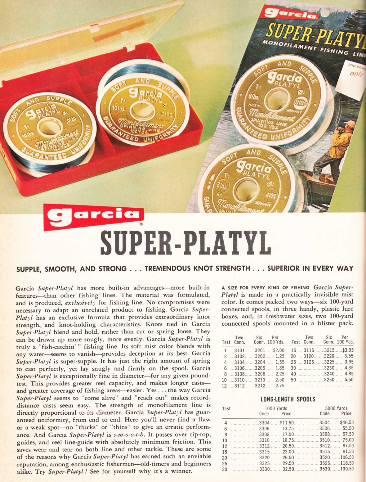 Garcia-Katalog von 1968.