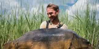 Robin Illners größter Karpfen aus Frankreich mit 28,2 Kilogramm!