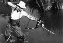 """In den USA wurde und wird teilweise recht ungewöhnlich auf Karpfen """"gefischt""""."""