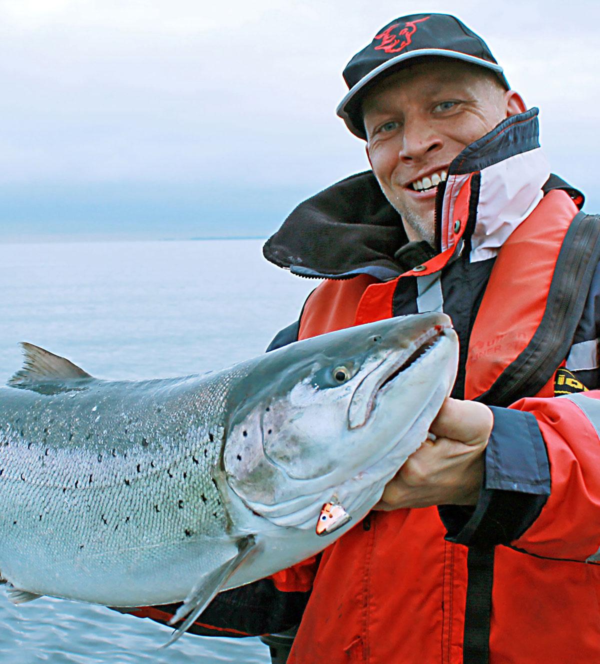 Lachs aus der Ostsee