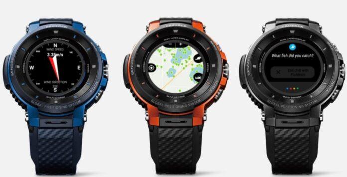 Smartwatch Casio Pro Trek