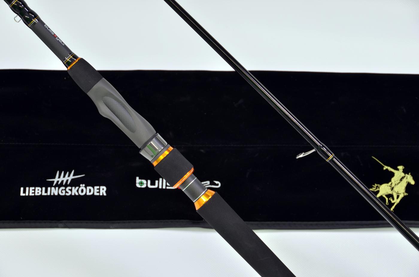 Der Fuji-TVS-Rollenhalter: super-ergonomisch und optisch ein Hingucker.