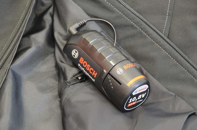 Beliebt Im Test: Beheizbare Jacke von Bosch - Fisch und Fang HR58